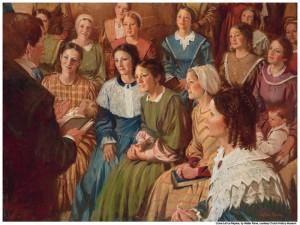 Mujeres-mormonas